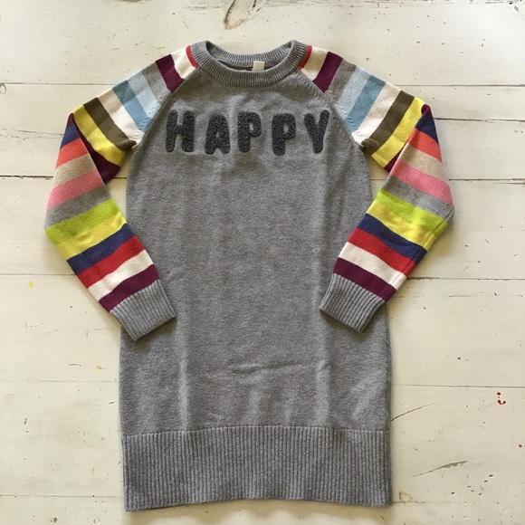 d6eeafc545f GAP Other - Gap Kids sweater dress HAPPY